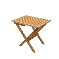 Mirage Deluxe Bamboo Luggage Rack in Natural