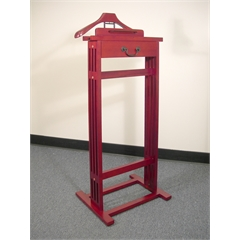Proman Products Mission Valet in Dark Cherry