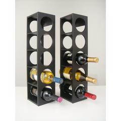 Rutherford Wine Racks Black