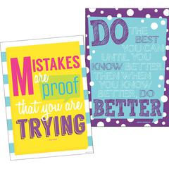 Poster Duet Set - Keep Trying Set of 2