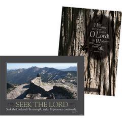 Barker Creek Poster Duets - Natural Wonders Set of 2