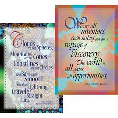 Barker Creek Poster Duets - Unlimited Possibilities Set of 2