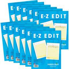 Barker Creek E-Z Edit Paper — 12 Pack
