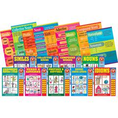 Grammar Poster & Activity Book Set of 18