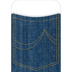 Peel & Stick Denim Pockets Set of 30
