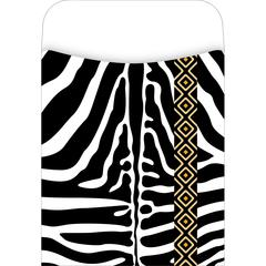 Peel & Stick Africa - Zebra Pockets Set of 30