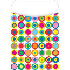 Barker Creek Peel & Stick  Disco Dots Pockets Set of 30