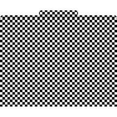 Black Check File Folders Set of 12