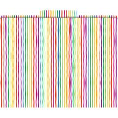 Barker Creek Stripes Folders Set of 12
