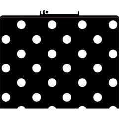 Barker Creek Black & White Dot File Folders Set of 12