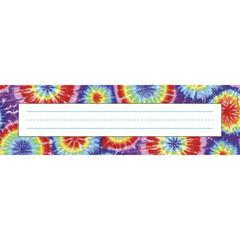 Tie-Dye Desk Tag Set of 36