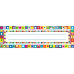 Retro Desk Tag Set of 36