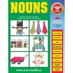 Barker Creek Nouns Activity Book