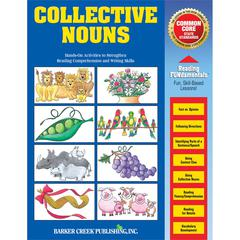 Collective Nouns Activity Book