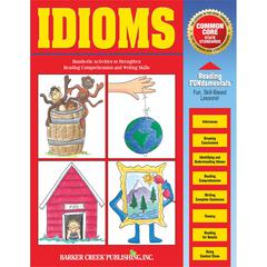 Barker Creek Idioms Activity Book