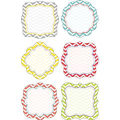 Double-Sided Accents - Chevron Beautiful Set of 36