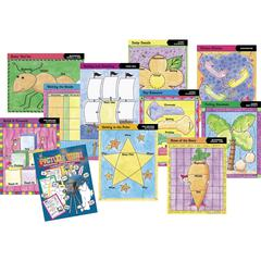 Graphic Organizer Classroom Set of 20 Charts and 1 Book