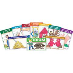 Barker Creek Idioms Chart Set of 10