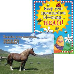 Celebrate Reading Chart Set of 2