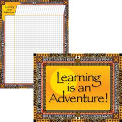 Learning is an Adventure Chart Set of 2