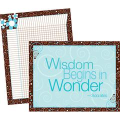 Barker Creek Wisdom Wonder Chart Set of 2