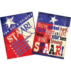 Barker Creek STAAR Texas Chart Set of 2