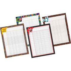 Incentive Chart Pack - Set of Four Incentive Charts
