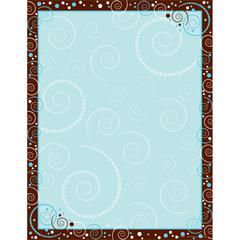 Hot to Dot Swirl Paper 50 Sheets