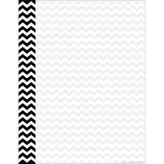 Computer Paper - Black Chevron 50 Sheets