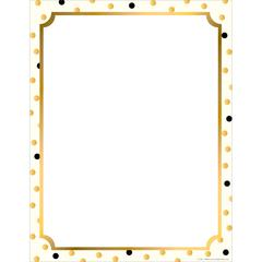 Computer Paper - Gold Computer Paper 50 Sheets