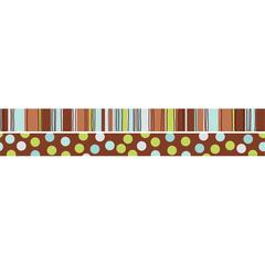 Barker Creek Double-Sided Trim Ribbon By The Yard (35 Feet)