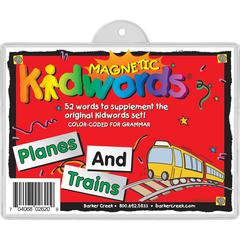 Planes & Trains Magnets Set of 52