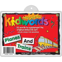 Barker Creek Planes & Trains Magnets Set of 52