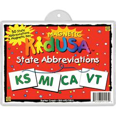 USA State Abbreviations Set of 51