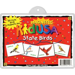 Barker Creek USA State Birds Set of 51