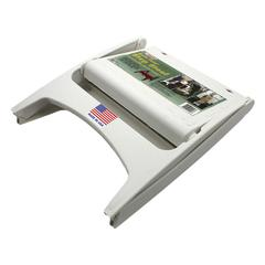 ADAMS MANUFACTURING QUIK FOLD STEP STOOL WHITE