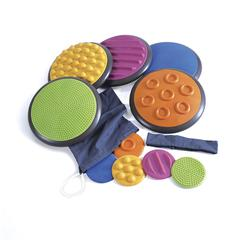 AMERICAN EDUCATIONAL PROD TACTILE DISCS SET OF 5