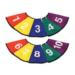 AMERICAN EDUCATIONAL PROD NUMBERED CONE COVERS SET OF 10