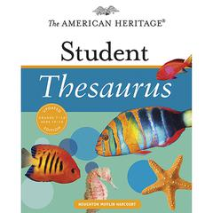 HOUGHTON MIFFLIN THE AMERICAN HERITAGE STUDENT THESAURUS UPDATED EDITION