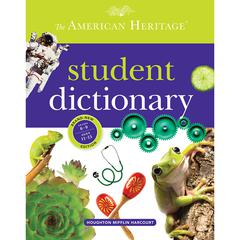 HOUGHTON MIFFLIN THE AMERICAN HERITAGE STUDENT DICTIONARY