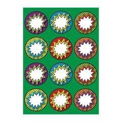 Ashley Dry Erase Superhero Die-cut Magnets - Superhero Theme/Subject - 12 (Superhero Pops) Shape - Magnetic - Vibrant Pattern - Die-cut, Write on/Wipe off, Heavy Duty, Damage Resistant, Long Lasting -