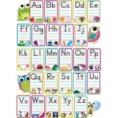 Ashley Magnetic Alphabet Calendar Set - (Alphabet) Shape - Magnetic - 1 / Pack