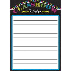 Magnetic Classroom Charts Rules, Paper