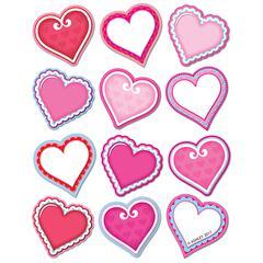 Diecut Magnets Valentine Hearts