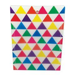 Smart Poly Folder Triangles 10X13