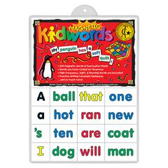BARKER CREEK & LASTING LESSONS HIGH FREQUENCY WORDS LEARNING MAGNETS 205PK