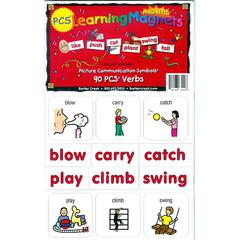 PCS LEARNING MAGNETS 90 VERBS