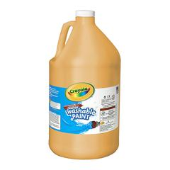 CRAYOLA WASHABLE PAINT GALLON PEACH