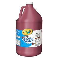 CRAYOLA WASHABLE PAINT GALLON RED