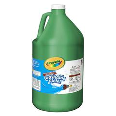 CRAYOLA WASHABLE PAINT GALLON GREEN